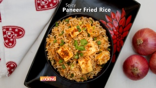 Spicy Paneer Fried Rice