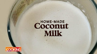 Home-made Coconut Milk  Drinks