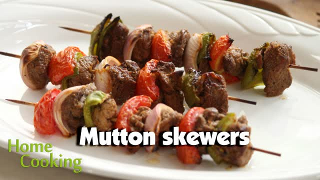 Mutton Skewers
