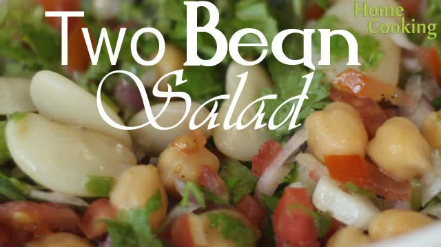Two beans salad