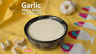 Garlic Mayo Sauce for Shawarma