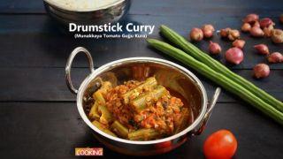 Drumstick Curry (Munakkaya Tomato Gujju Kura)