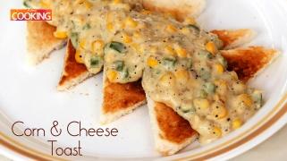 Corn & Cheese Toast  Snacks