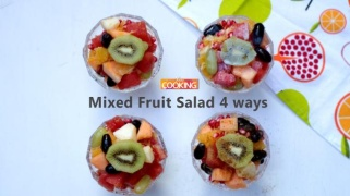 Mixed Fruit Salad - 4 ways