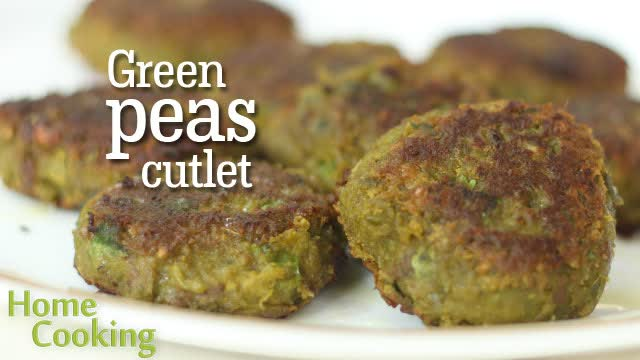 Green Peas cutlet