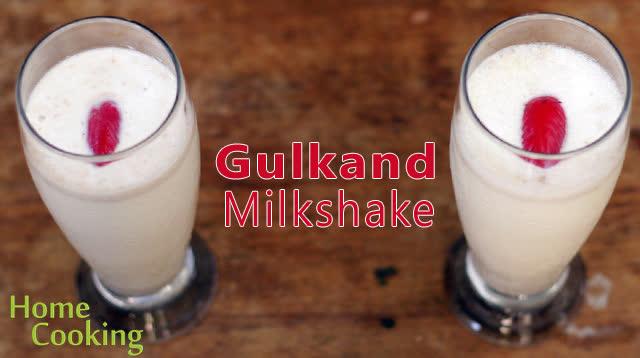 Gulkand Milkshake