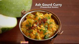 Ash Gourd Curry (Poosanikai Kootu)  Winter Melon Curry