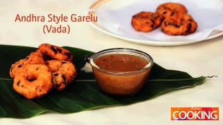 Andhra Style Garelu (Vada)