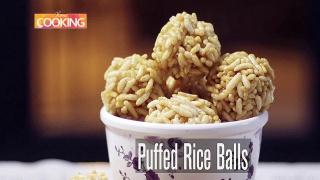 Puffed Rice Balls - Pori Urundai