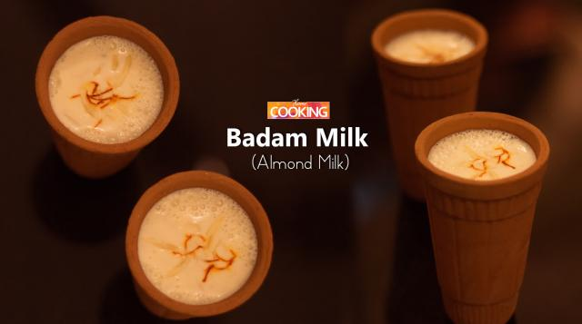Badam Milk (Almond Milk)