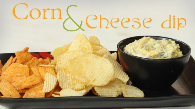 Corn and cheese dip