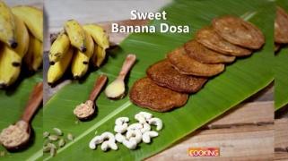 Sweet Banana Dosa