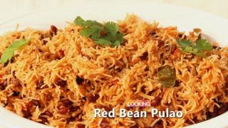 Red Bean Pulao Recipe