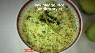 Raw Mango Rice (Andhra style)