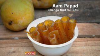 Aam Papad (Mango Fruit Roll-Ups)