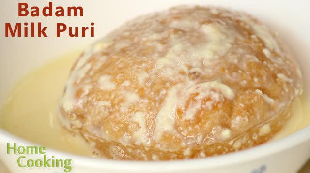 Badam Milk Puri