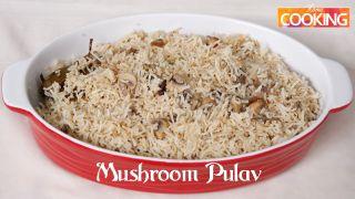 Quick Recipe - Mushroom Pulav