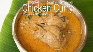 Chicken Curry with Coconut Milk - South Indian Style