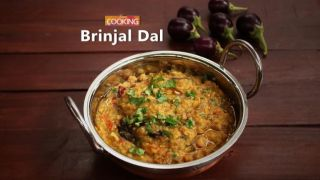 Brinjal Dal (Eggplant Dal)