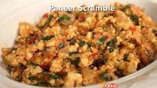 Paneer scramble