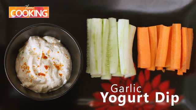 Garlic Yogurt Dip