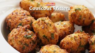 Couscous Fritters