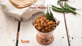 Dhaba Style Chana Masala