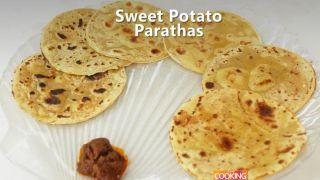 Sweet Potato Parathas