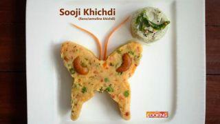 Sooji Khichdi [Rava/Semolina Khichdi]