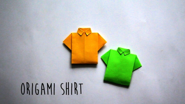 Papercraft How To Make An Origami Bank Note T-Shirt ... | 360x640