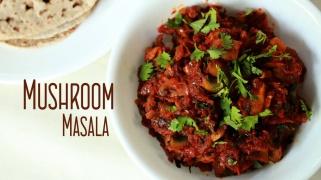Mushroom Masala  Home cooking