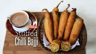 Stuffed Chilli Bajji