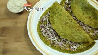 Pesarattu / Pesarettu / Green Gram Dosa