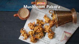 Mushroom pakora