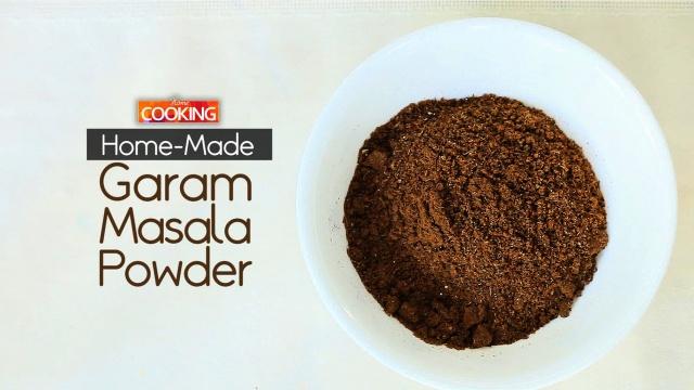 Home-made Garam Masala Powder